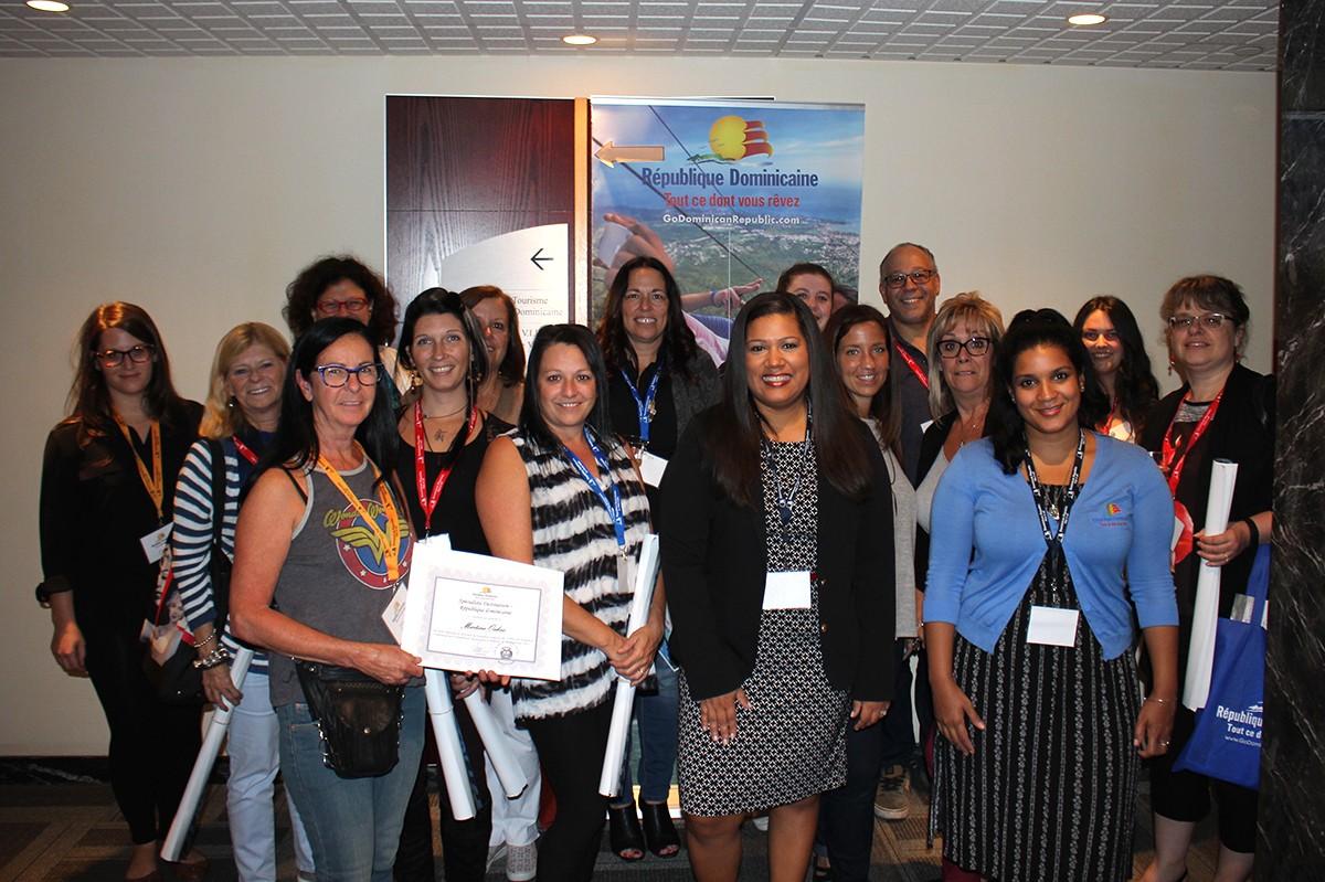 Pax retour sur trois jours de formation sur la - Office de tourisme republique dominicaine ...
