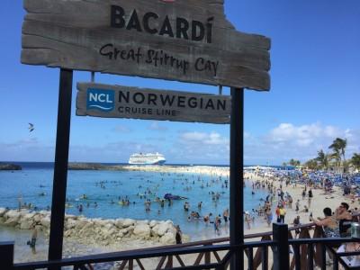 Plage privée de Norwegian Cruise Line