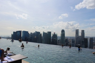 Piscine Marina Bay Sand Singapour