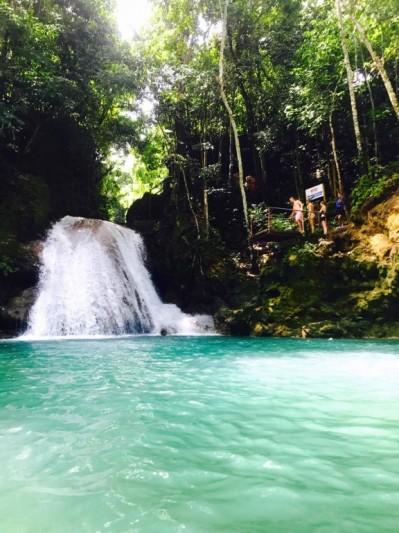 Blue Hole Jamaïca