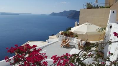 Un après-midi à Oia, Santorini