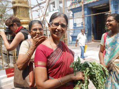 Sourires de l'Inde du Sud