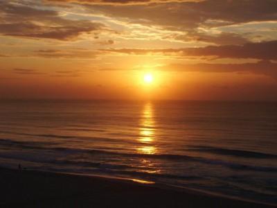 Levé du soleil dans le Sud