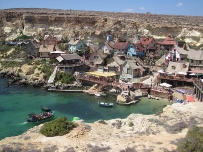 Un sublime petit village sur l'île de Malte