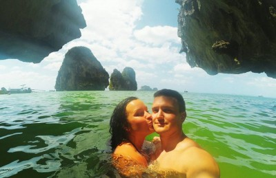 Paradise at Railey Beach, Krabi, Thailand