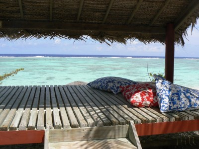 Relaxation et contemplation, Maupiti