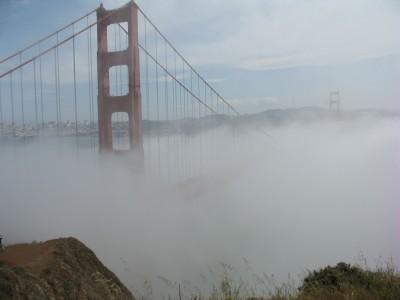 Golden Gate Brouillard