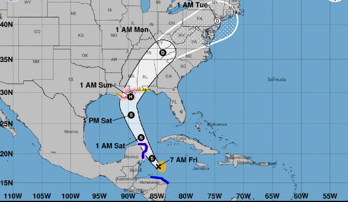 Tempête tropicale Nate : des morts en Amérique centrale, Cancún dans le viseur