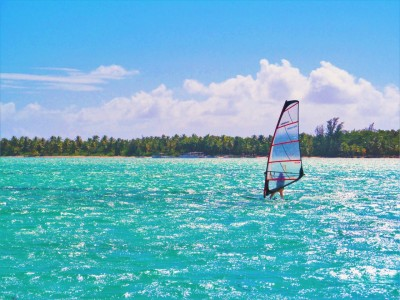 Sur la mer des Caraïbes