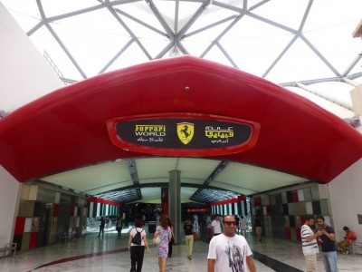Ferrari World-Abu Dhabi à Dubai