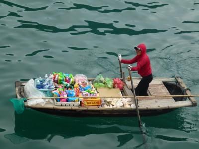 Cantine sur l'eau, Vietnam