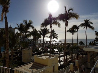 Riu Palace Cabo San Lucas. Petit déjeuner terrasse Wow