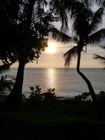 Couché du soleil a Bali!