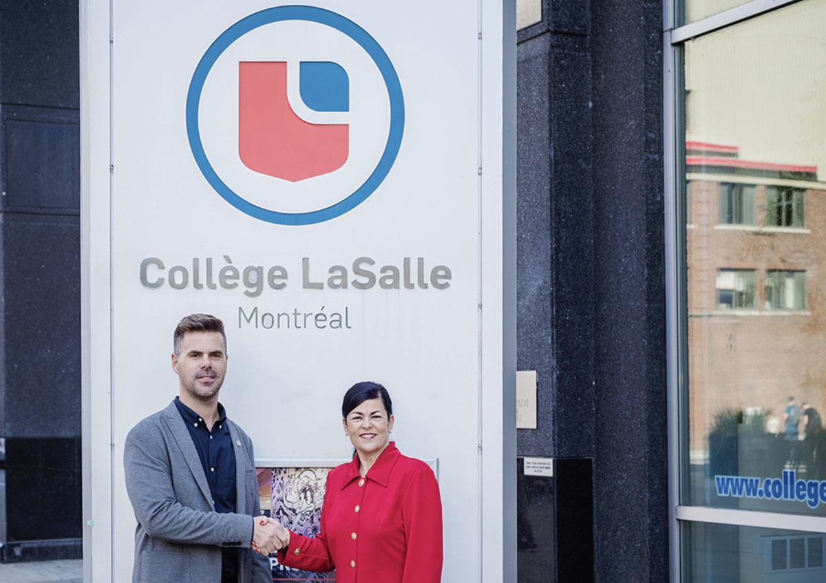 Réseau Ensemble et le Collège LaSalle main dans la main pour former la relève