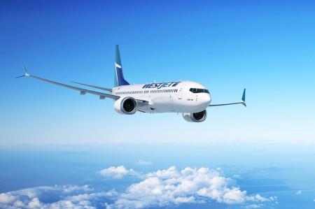 WestJet révèle son premier Boeing 737 MAX
