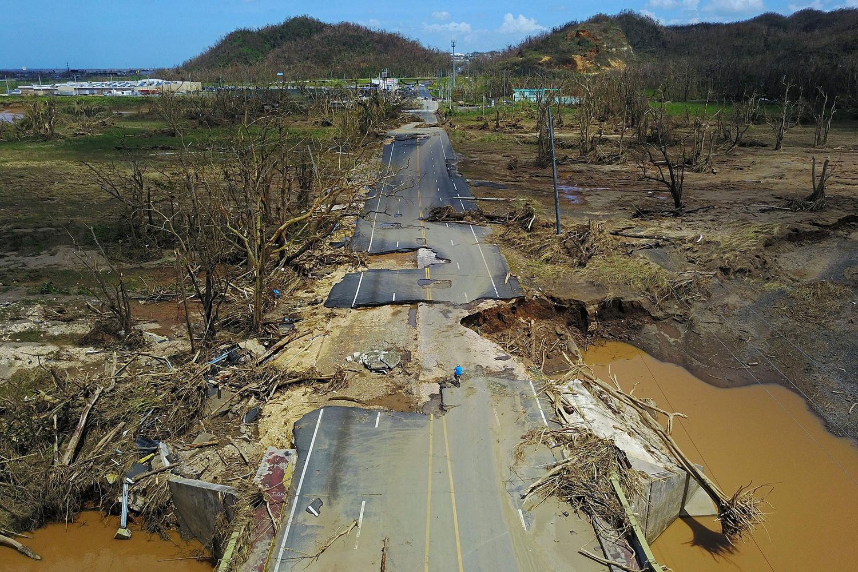 La dévastation de Porto Rico en images