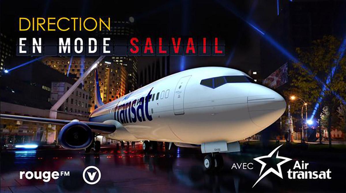 Air Transat: les gagnants du concours En mode Salvail renvoyés chez eux