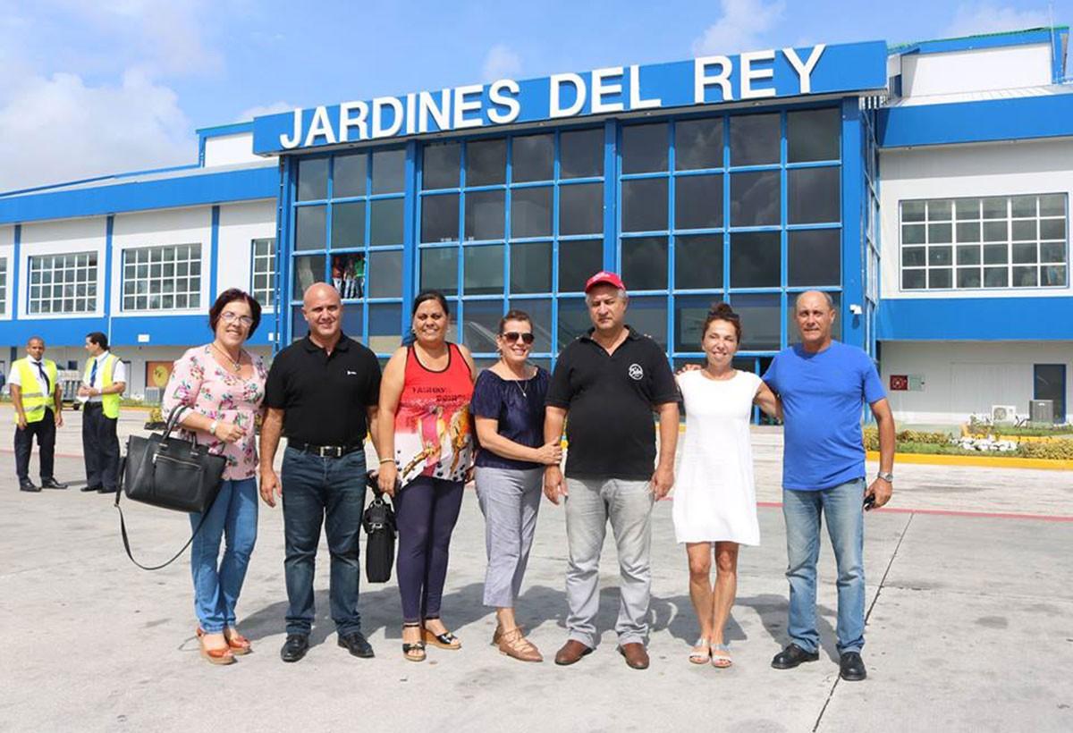 PAX de retour des cayos de Cuba : des travaux qui avancent très vite!