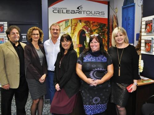 Celebritours inaugure son bureau de Québec