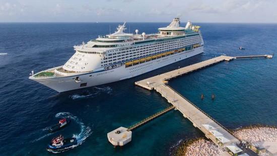 Une nouvelle jetée maritime à Curaçao