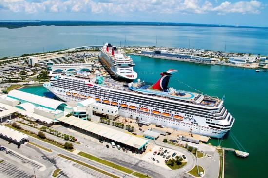 Un record de passagers pour Port Canaveral