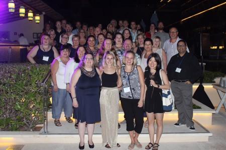 WestJet réunit son conseil consultatif des agents de voyages à Cancún