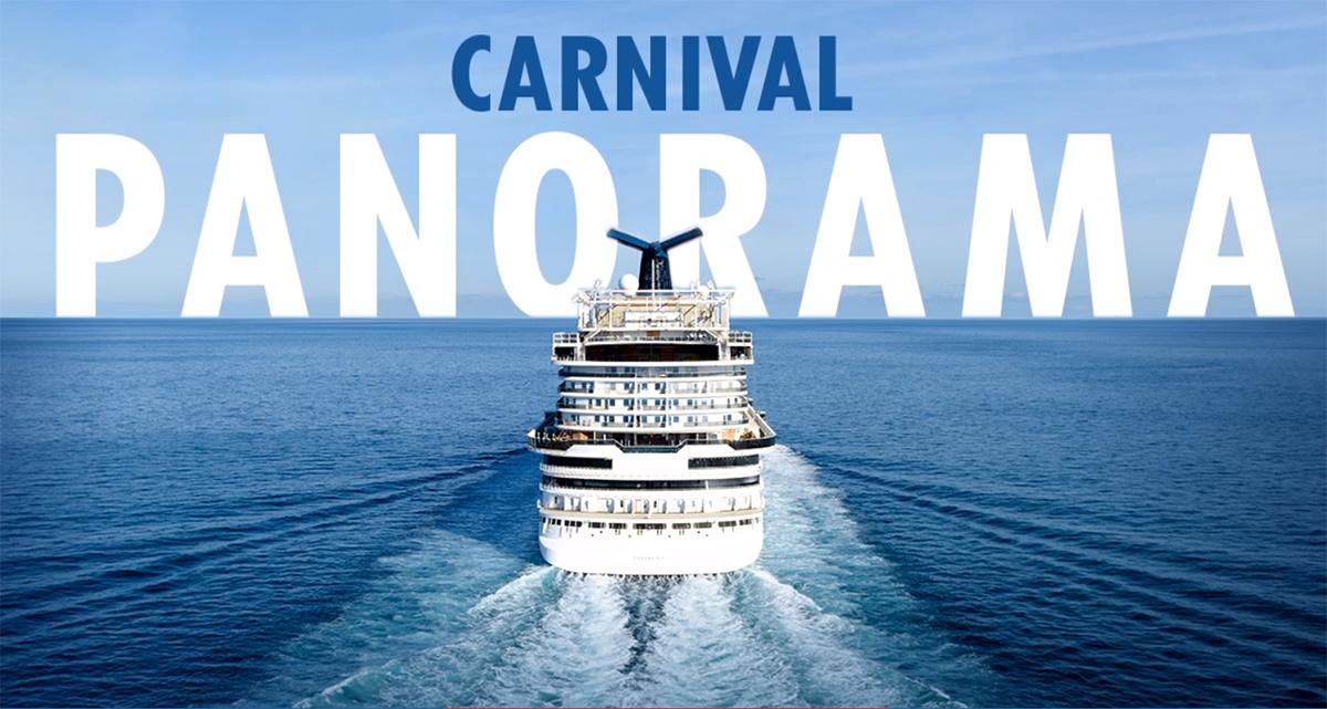 Le nouveau navire de Carnival se nommera Panorama