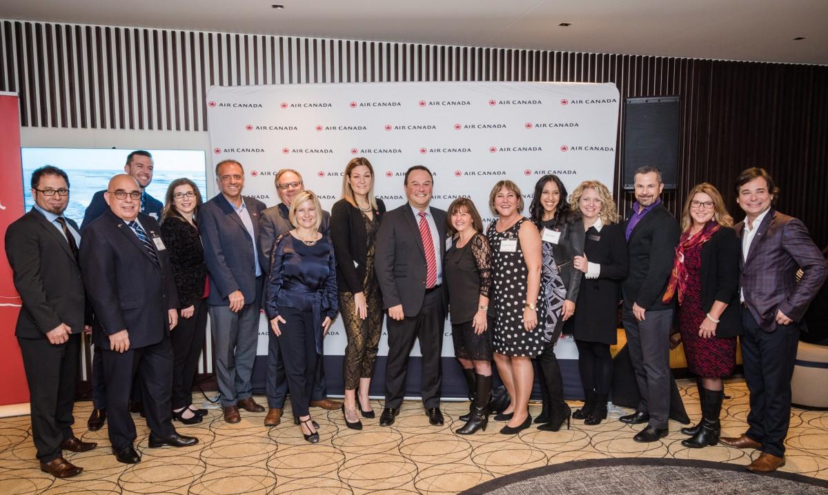 Air Canada remercie ses partenaires pour une année 2017 extraordinaire