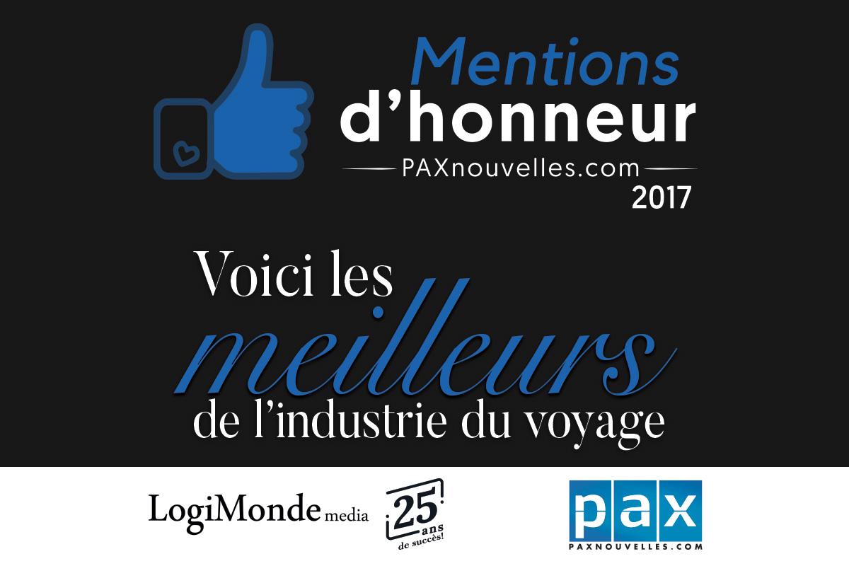 Mentions d'Honneur 2017 : le verdict!