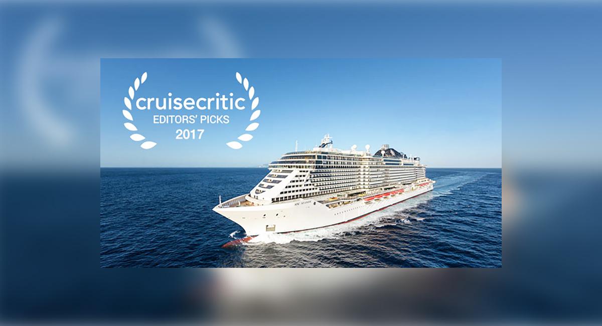 Cruise Critic sélectionne ses favoris de 2017