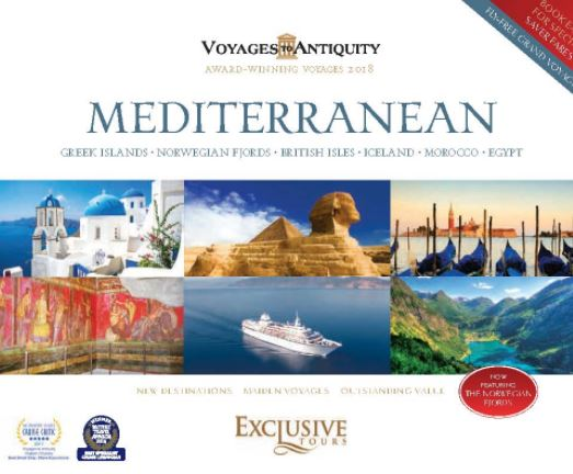 Voyages Antiquity 2018 -Mediterranean (anglais)