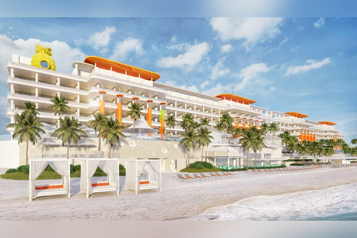 Il y aura un hôtel Nickelodeon sur la Riviera Maya en 2019