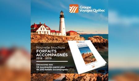 GVQ : la brochure Forfaits accompagnés en agence dès aujourd'hui