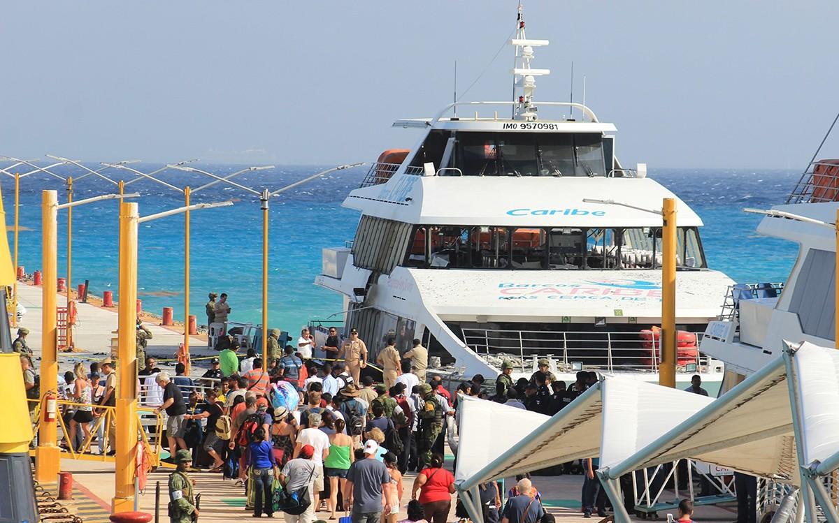 Ottawa recommande d'éviter les traversiers à Playa del Carmen