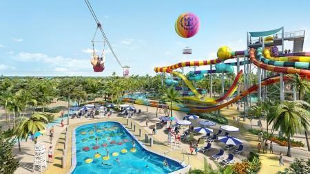 Premières images de la nouvelle CocoCay, l'île privée de Royal Caribbean