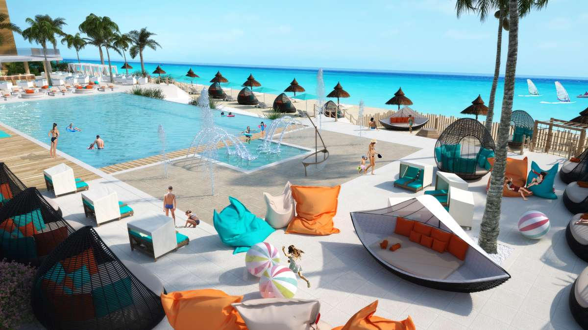 Club Med Cancún Yucatán agrandit sa zone familiale Aguamarina