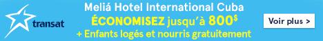 Transat website - Standard banner  April 23