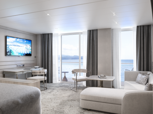 En images : les suites luxueuses du Crystal Endeavor