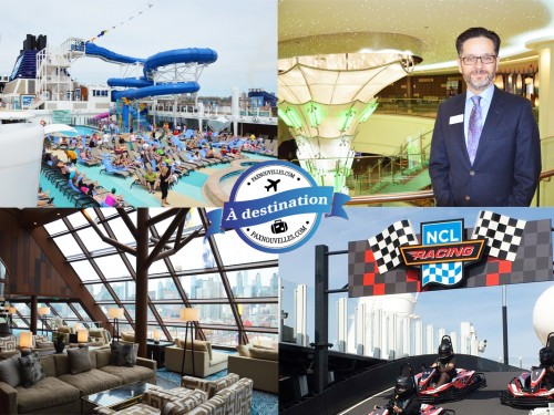 En images : PAX à destination sur le nouveau Norwegian Bliss