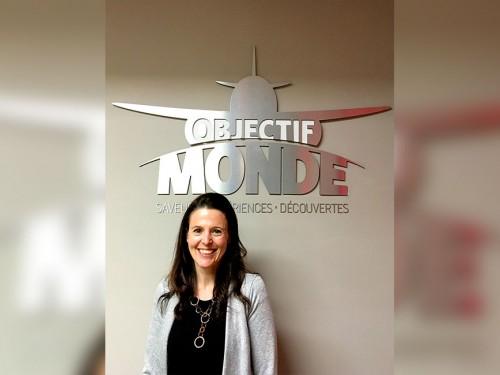 Objectif Monde recrute une nouvelle déléguée aux ventes et relations publiques