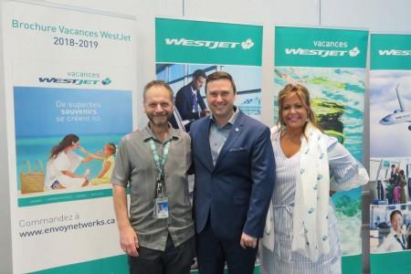 Expo voyage WestJet 2018: les agents en vedette