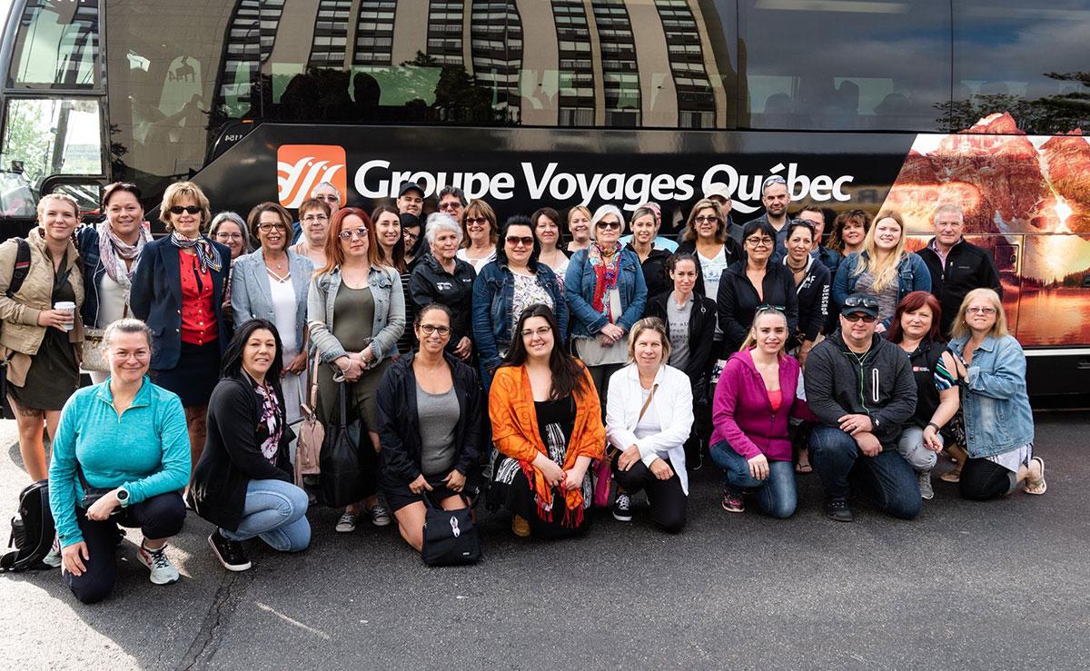 Groupe Voyages Québec et Voyages en Direct découvrent l'Adventure of the Seas