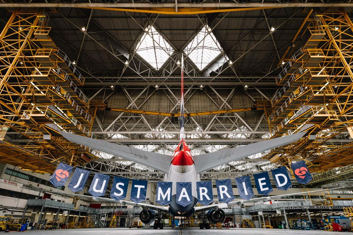 British Airways : un vol spécial pour souligner le mariage royal