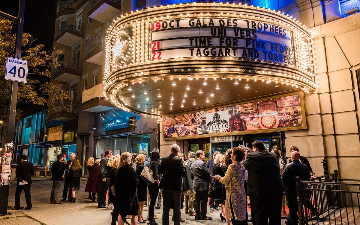 Le Gala des trophées Uni-Vers de nouveau au Théâtre Rialto