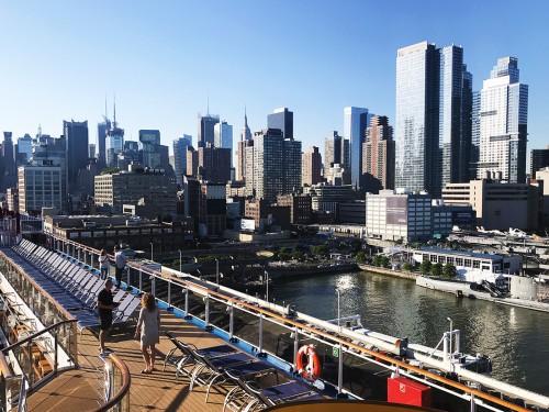 PAX à destination: premier coup d'œil sur le Carnival Horizon, en direct de New York