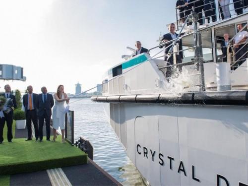 Le Crystal Debussy fait ses débuts sur le Rhin