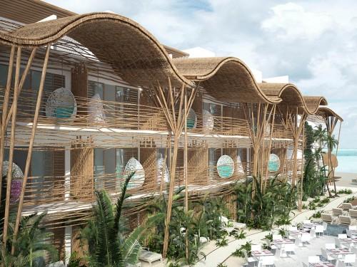 L'île de rêve où Blue Diamond a ouvert son plus récent hôtel