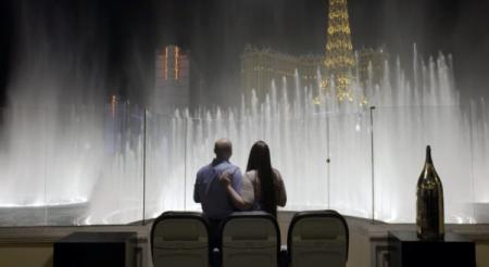 WestJet vous donne le contrôle des fontaines du Bellagio