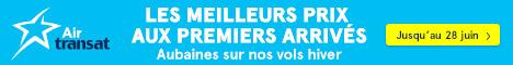 Transat website - Standard banner  June 20