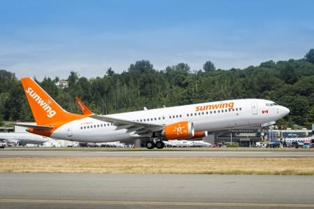 Sunwing ajouté au réseau Hahn Air